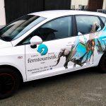 S&S Werbung Regensburg - Unsere Leistungen: Beschriftungen von Fahrzeugen