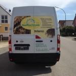 Dorfbackhaus Regensburg, Fahrzeugbeklebung