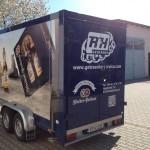 Fahrzeugbeklebung R+H Getränke