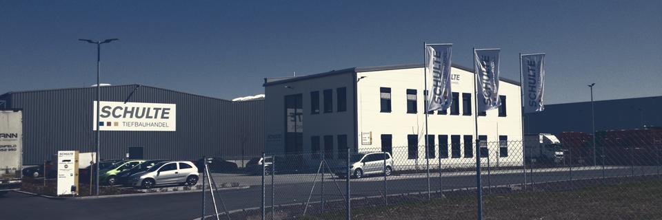 S&S Werbung, Regensburg: Außenwerbung: Schulte Tiefbauhandel