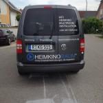 Fahrzeugbeklebung Heimkinoraum