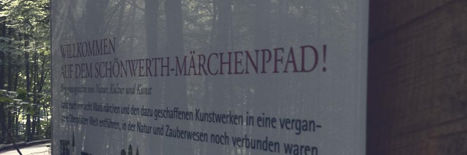 S&S Werbung, Regensburg: Wegweiser: Märchenwald, Sinzing