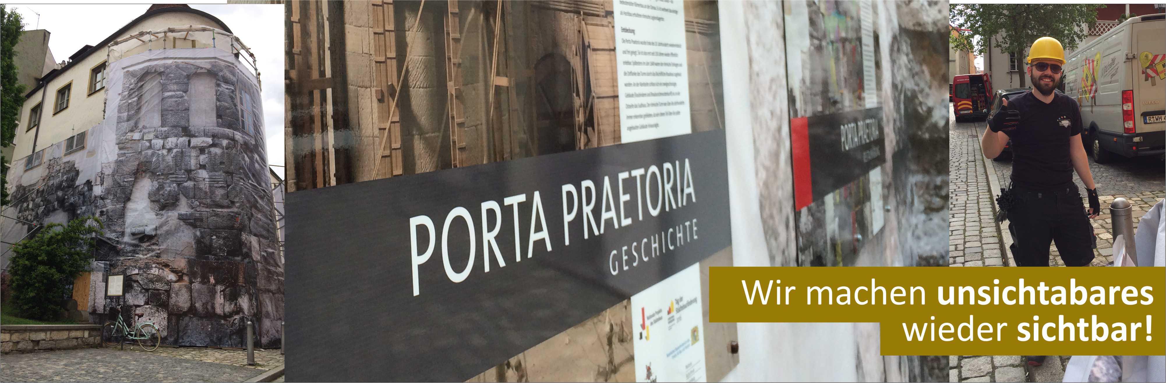 S&S Werbung, Regensburg: Porta Praetoria