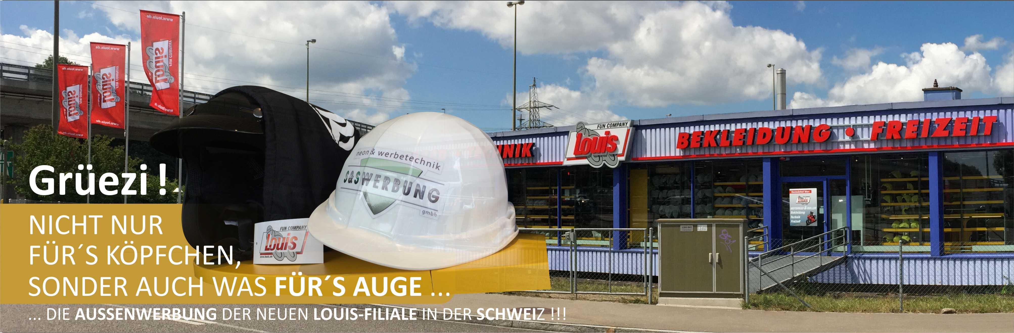 S&S Werbung, Regensburg: Louis Wallisellen
