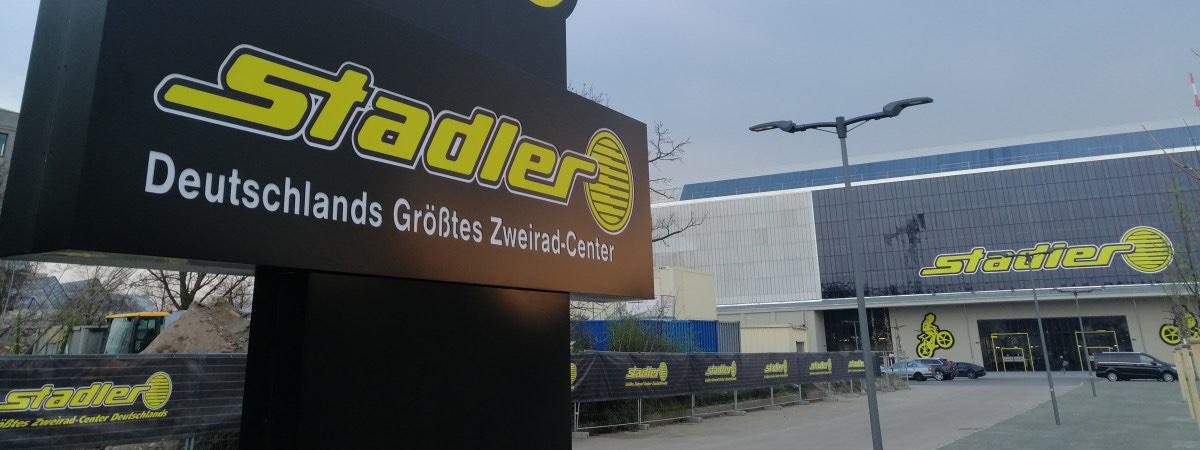 S&S Werbung, Regensburg: Stadler Leipzig – die Megahalle