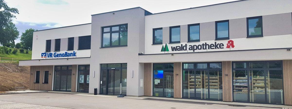 S&S Werbung, Regensburg: Waldapotheke und VR GenoBank – Spiegelau